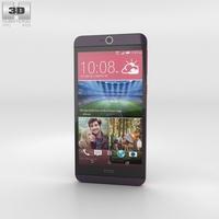 HTC Desire 826 Purple Dark 3D Model