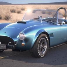 Shelby Cobra 289 1965 3D Model