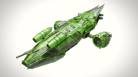 Spaceship Dropship 2 3D Model