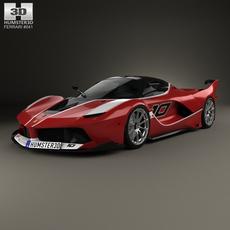 Ferrari FXX-K 2015 3D Model