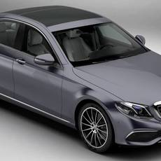 Mercedes E Class Exklusive 2017 3D Model