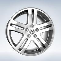 Dodge Rim 3D Model