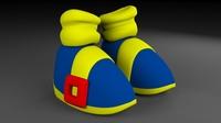 Toon Shoes 3D Model