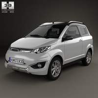 Aixam Crossover Premium 2014 3D Model