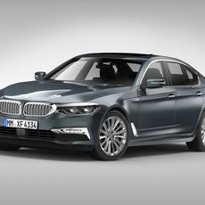 BMW 5 Series G30 (2017) 3D Model
