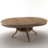 Table extended 3D Model