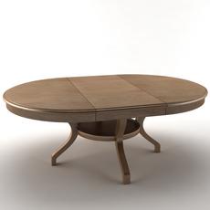 Table extended 3D Model