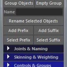 Robs Rigging Tools for Maya 2.5.0 (maya script)