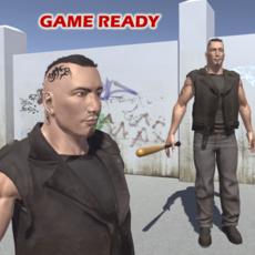 Tough guy 3D Model