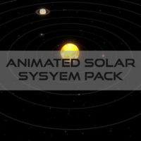 Animated Solar System Pack 3D Model