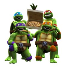 TMNT Classic Remake Rig for Maya 1.1.1