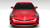 Toyota Prius Flying 2017 3D Model