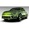 VW Beetle 2017 3D Model