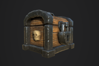 Chests Fantasy PBR 3D Model