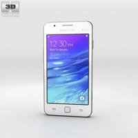 Samsung Z1 White Phone 3D Model