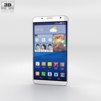 Huawei Ascend GX1 White Phone 3D Model
