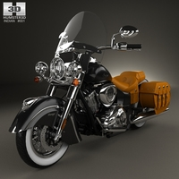 Indian Chief Vintage 2014 3D Model