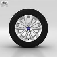 Ford Kuga Wheel 17 inch 002 3D Model