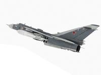 Sukhoi Su-24 Fencer Russian scheme 3D Model