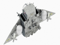 Sukhoi  Su-24 Fencer  Ukranian scheme 3D Model