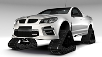 HSV GTS Maloo Crawler 2017 3D Model