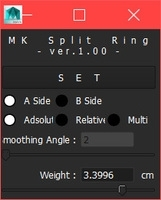 MK_Split_Ring 1.0.0 for Maya (maya script)