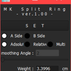 MK_Split_Ring for Maya 1.0.0 (maya script)