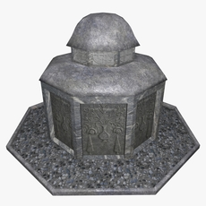 Monumental built 3D Model