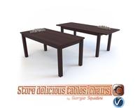 Table ERNEST by Halmar 3D Model