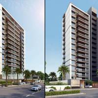 04 29 14 823 3d hi rise building exterior day view design atlanta usa cover