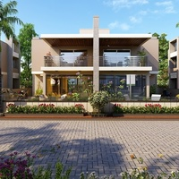 04 30 28 129 exterior design rendering for residential modern bangalow columbia usa cover