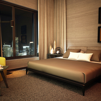 05 21 45 267 3d interior cgi design of hotel bedroom los angeles usa cover