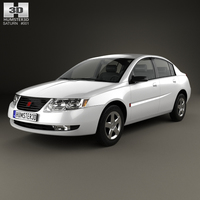 Saturn Ion 2004 3D Model