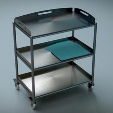 Trolley Steel 3D Model