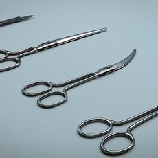 Scissors Steel - 4 Types 3D Model
