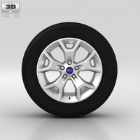 Ford Kuga Wheel 17 inch 003 3D Model