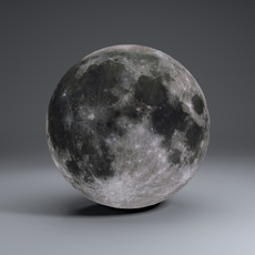 MoonGlobe 4k 3D Model