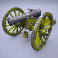 Cannon Unicorn 3D Model