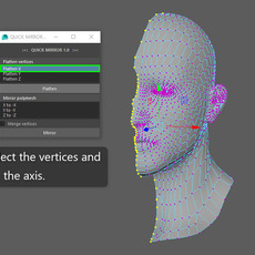 QuickMirror for Maya 1.0.0 (maya script)