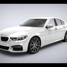 BMW 5-series G30 2017 3D Model