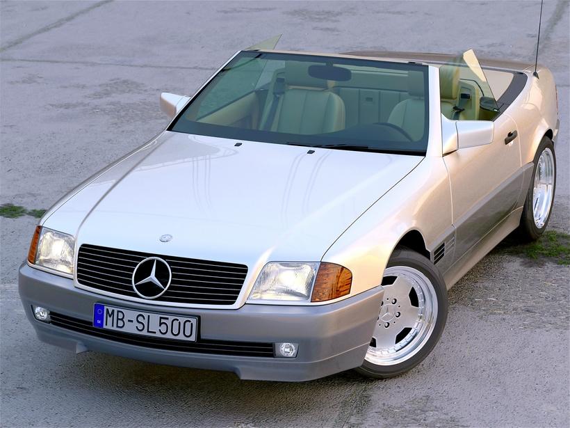 Mercedes Benz SL Class 1995 3D Model