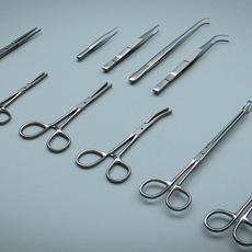 Forceps Tweezers - Medical Instruments 3D Model
