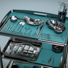 Surgical Instruments - Medical Equipment Collection 3D Model