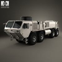 Oshkosh HEMTT M984A4 Wrecker Truck 2011 3D Model