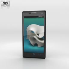 ZTE Kis 3 Max Black 3D Model