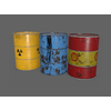 Oil Barrel PBR 3D Model