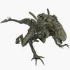 Mutant Alien 3D Model