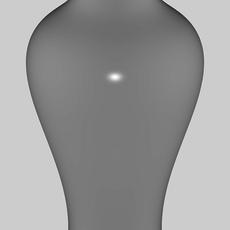 Tall thin vase 3D Model