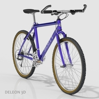 Scott Mountain Bike 3D Model