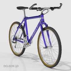 Scott Mountain Bike 3D Model